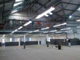 800 m2 of space to light and supply power to.