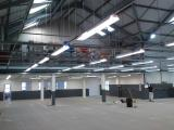Light commercial installation inc design of overhead grid lighting system