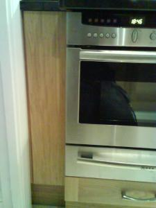 Kitchen in Royal Tunbridge Wells after David Haugh refit image 3, controls for appliances are now hidden.